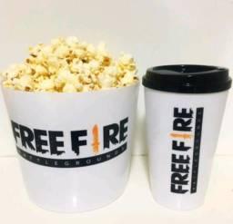 Kit Pipoca Free Fire