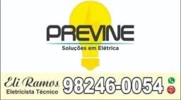 Título do anúncio: Eletricista Técnico Residencial, Predial, Comercial e Industrial