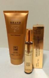 Perfumes e creme corporal
