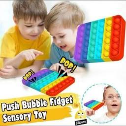 Brinquedo Sensorial e Alívio de Stress Pop It<br> Fidget toys