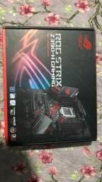 Título do anúncio: KIT Z390 ASUS ROG + I9 9900K e Placa de vídeo GTX1080