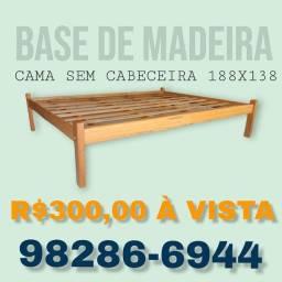 Título do anúncio: Base de madeira / 188x138