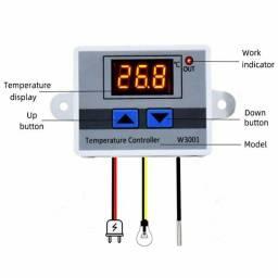 Título do anúncio: Termostato digital w3001 bivolt para chocadeira freezer