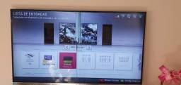 TV LG 47 Smart tela quebrada