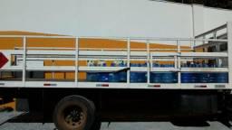 Carroceria para gas e água para caminhão toco