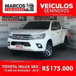 Toyota Hilux SRX 2018 - Estado de zero - 2018