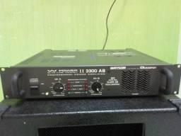 Potência/Amplificador Ciclotron W Power II AB 3300