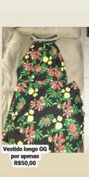 Desapega vestido longo GG - nunca usado