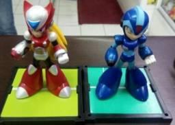 Boneco megaman e zero rockman x super nintendo