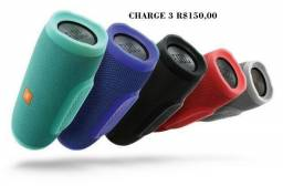 Caixa De Som Jbl Charge 3 Grande, Portátil Bluetooth Speaker