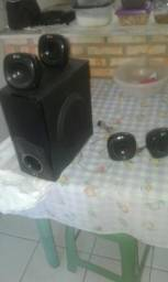 Um sub com mas 4 caixas de som