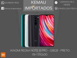 Xiaomi Redmi Note 8 PRO 128GB - Novo, com garantia