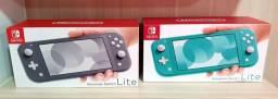 Lançamento Nintendo Switch Lite Portátil C/2 Jogos Aleatórios de Brinde Pronta Entrega