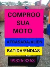 Moto atrasada alienada batida endias$$ - 2012