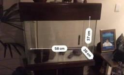 Aquário 60 litros com móvel