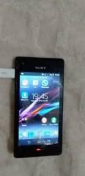 Vendo esse celular Sony pega tudo