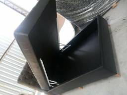 Cama box casal baú ja com colchão acoplado direto da fábrica