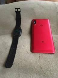 VENDO OU TROCO* Xiaomi Redmi note 5 e Smartwatch Amazfit