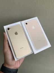 IPhone 7 32GB Gold, impecável na caixa