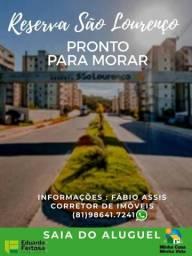 Reserva São Lourenço - Saia agora do Aluguel ! Pronto para Morar - Use seu Fgts
