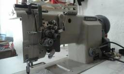 Máquina de costura de 2 agulhas Lanmax