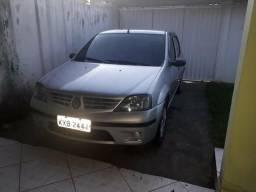 Renault Logan 1.0 16v doc ok gnv 5 geração troco - 2009