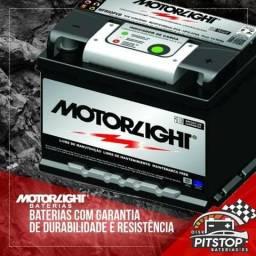 Motorlight 60Ah 18 meses garantia // 5x sem juros // 10% desconto a vista