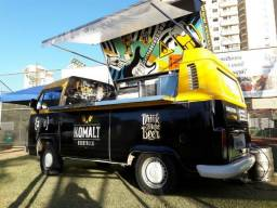 Kombi adaptada food truck