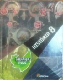 História 8º ano Araribá Plus Editora Moderna