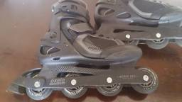 PATINS MASCULINO FIT 3 OXELO - ROLLER NEW FIT 3 MAN(Muito Pouco Usado bem consevado)