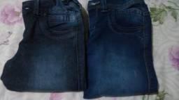 Calças jeans numero 10