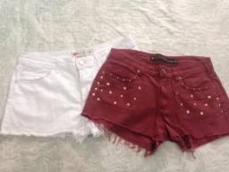 Shorts de brim 2 por $25