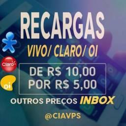 Recarga Celular Crédito Online R$ 10,00