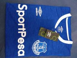 Camisa do Everton