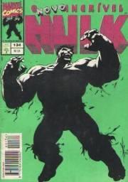 O Incrivel Hulk - Ed.134 - 1994 - Revista em Quadrinos 84pg - Marvel-Abril