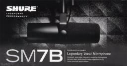 Microfone Shure sm7b Original Novo