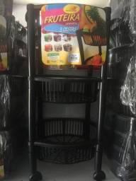 Fruteira com 3 cestas