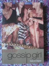 Livro Gossip Girl Psycho Killer de Cecily Von Ziegesar Idioma Português - Aceito Cartões