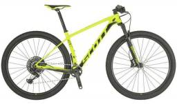 Bicicleta 29 Scott Carbon Scale RC900 Team Sram GX Eagle 1x12 (2019) (T 17)Produto NOVO