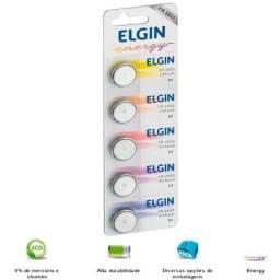 Bateria de Líthium CR 2032 Elgin - 5 Unidades - Embalagem lacrada