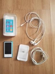 SÓ HOJE, MARCA APPLE- iPod Touch nano 7 geração com 16g Blue