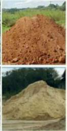 Barro e areia no segundo destrito