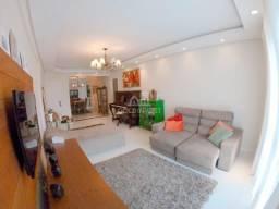 Apartamento semi mobiliado com 1 suite e 2 quartos no Jardim Maluche