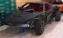 Ferrari 458 2014 - Sucata Para Venda de Peças