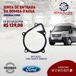 JUNTA DE ENTRADA DA BOMBA D'ÁGUA ORIGINAL FORD