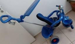 Triciclo Passeio Smart Comfort Azul Bandeirante<br><br>