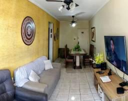 Apartamento em São Vicente de 2 dormitórios com vista mar