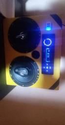 Caixa de som muto boa com sistema bluetooth