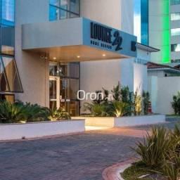 Flat com 2 dormitórios à venda, 48 m² por R$ 315.000,00 - Setor Oeste - Goiânia/GO