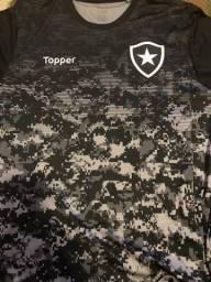 Camisa de treino do Botafogo camuflada topper tamanho xxl